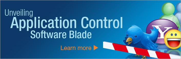 Узнай о программном блейде Application Control